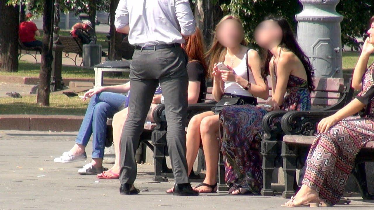 Познакомились с девушкой на улице порно онлайн