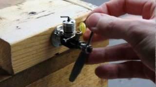 RC araçlar için dizel motor - 0.1 cc