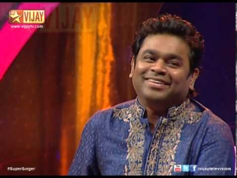 A R Rahman in Super Singer 4 - 23-12-2013