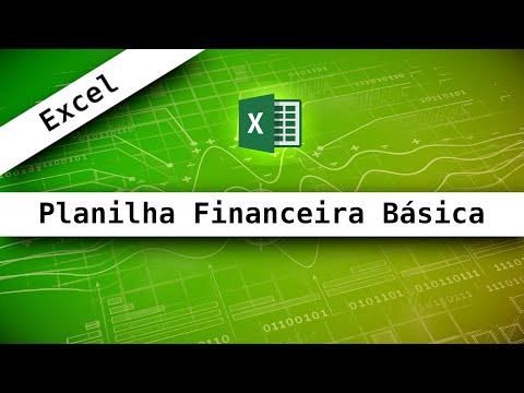 Excel - 2 - Planilha financeira básica