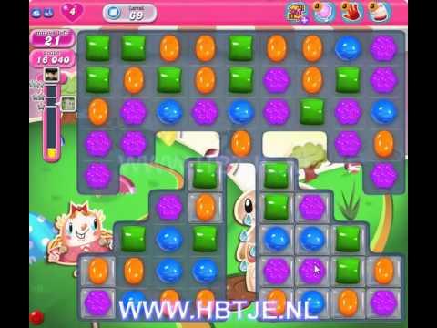 Candy Crush Saga level 69
