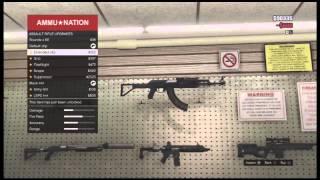 GTA 5 Glitches: Unlimited Gun GLITCH!! Get Any Gun For