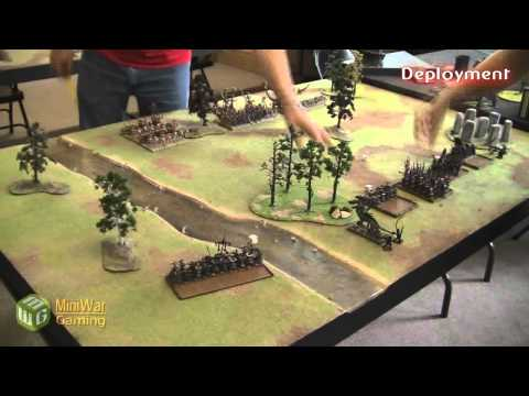 Dark Elves vs Tomb Kings Warhammer Fantasy Battle Report - Part 1/3 - Beat Matt Batrep