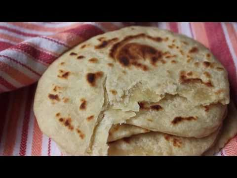 Fresh Flour Tortillas! - Homemade Flatbread Recipe - Make Your Own Wraps!