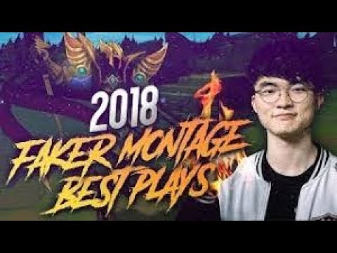 BEST OF FAKER MONTAGE - BEST PLAYER in The WORLD!