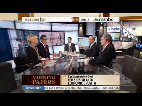 Ron Paul on MSNBC 11/03/11
