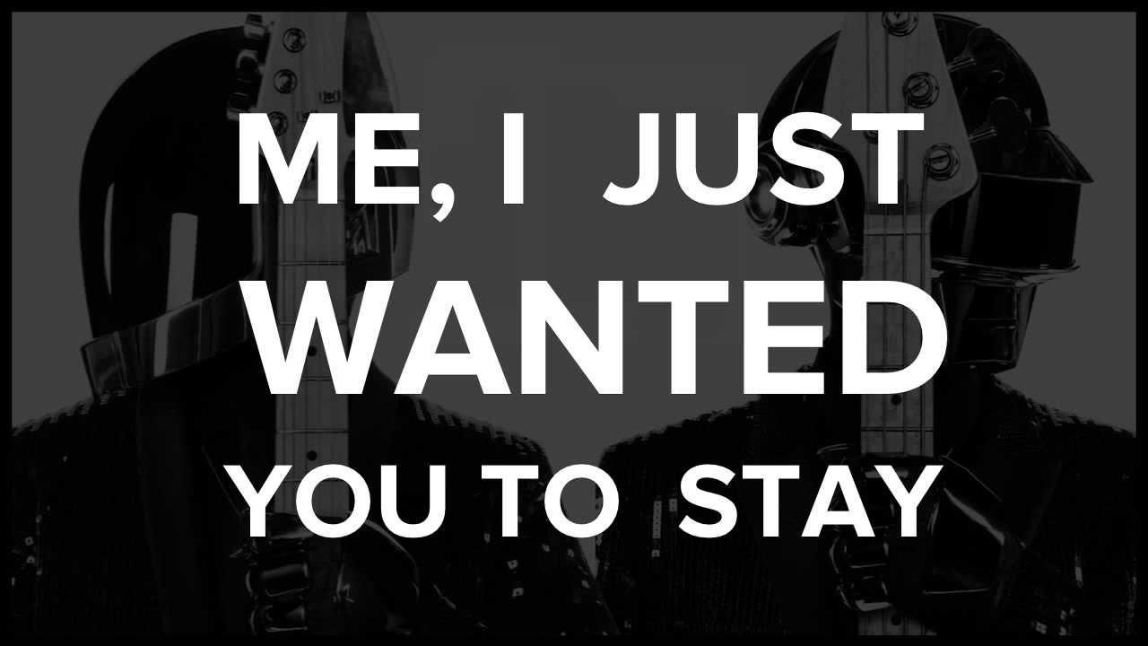 DAFT PUNK LYRICS - SONGLYRICS.com | The Definitive ...