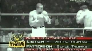 Sonny Liston Vs Floyd Patterson, II (long)