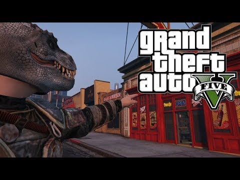GTA V Funny Moments - We Must Defend This Store!