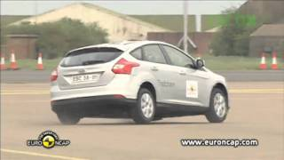 Ford Focus ESC test - Euro NCAP 2011