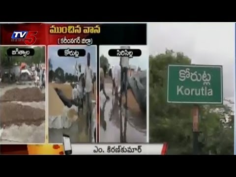 Heavy crop loss in Karimnagar due to rains