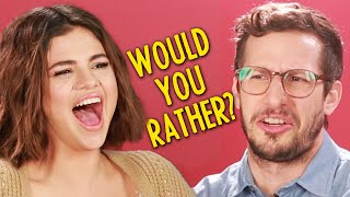 "Selena Gomez And The Cast Of ""Hotel Transylvania 3"" Play Monster Would You Rather"