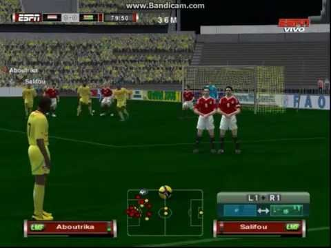PES6 Greece World Cup 2014 Qualifiers - Togo vs Egypt