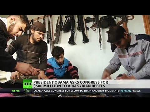 Obama asks Congress to send weapons to Syrian rebels