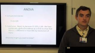 Biostatistics & Epidemiology Lecture Series - Part 3: C Statistical Inference ANOVA.....
