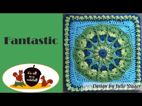Fantastic - Crochet Square