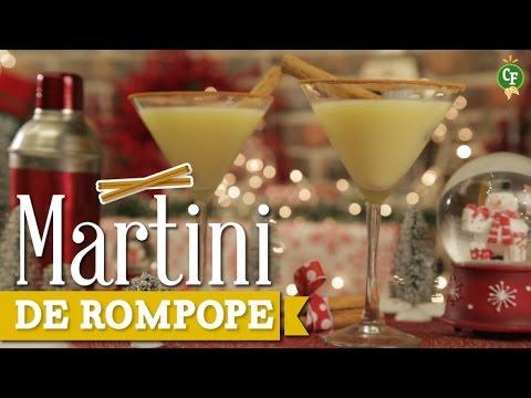 ¿Cómo preparar Martini de Rompope?- Cocina Fresca