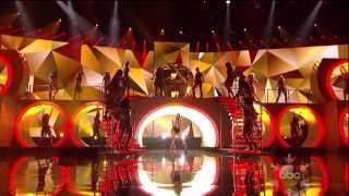 Pitbull Timber Ft. Ke$ha American Music Awards 2013