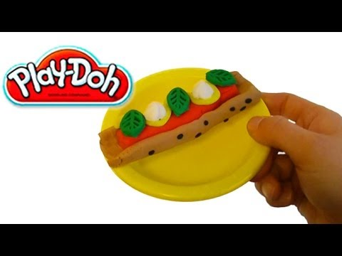 Play doh hot dog chicago style play doh fast food play for Play doh cuisine