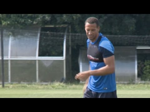 Rio Ferdinand Trains With New QPR Team-Mates For First Time