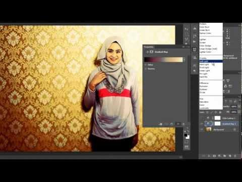 Cara cepat melakukan color toning pada foto dengan Photoshop CS6