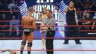 Royal Rumble 2008 Randy Orton Vs Jeff Hardy WWE