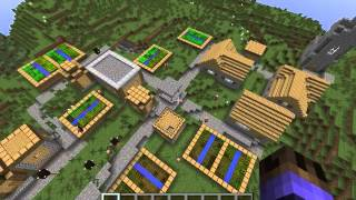 Semilla/Sed Minecraft Aldea Y Mina 1.7.10 1.7.4