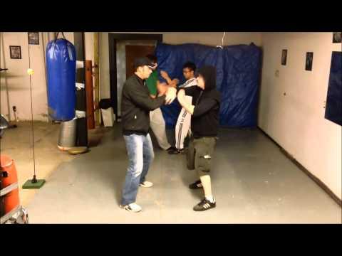 Wing Chun/Ving Tsun - IVT Quan sau vs. Side pak/Inside pak sau