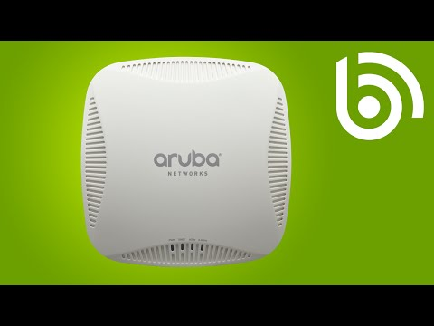 How to configure external antennas on Aruba Instant Access Points