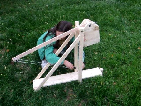 How To Build A Small Trebuchet At Home