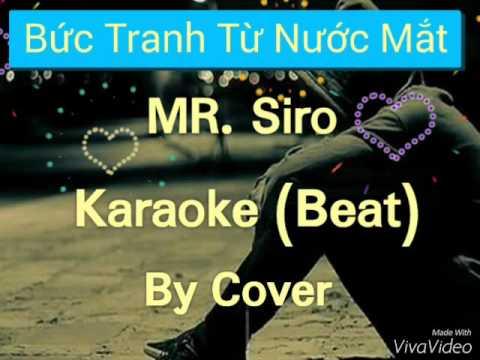 - Bức tranh từ nước mắt - karaoke ( beat chuẩn )