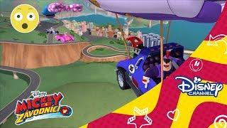 Mickey  a závodníci - Balónový závod