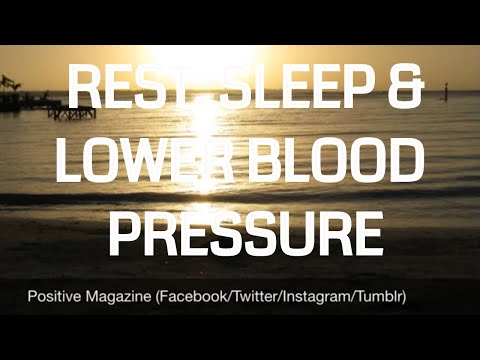 10 Minute Guided Meditation for Rest, Sleep and Lower Blood Pressure