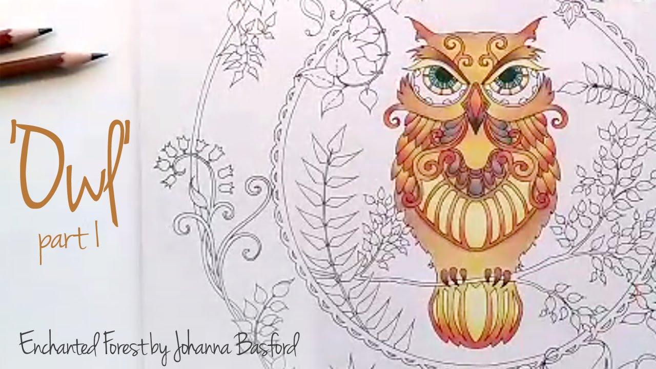 Как разукрасить сову в раскраске