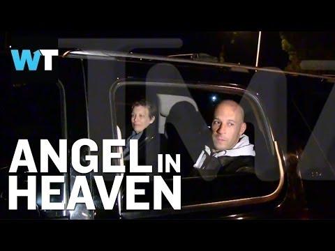 TMZ Questions Vin Diesel After Paul Walker Speech | What's Trending Now