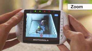 Motorola MBP36-2 Twin Camera Video Baby Monitor How To