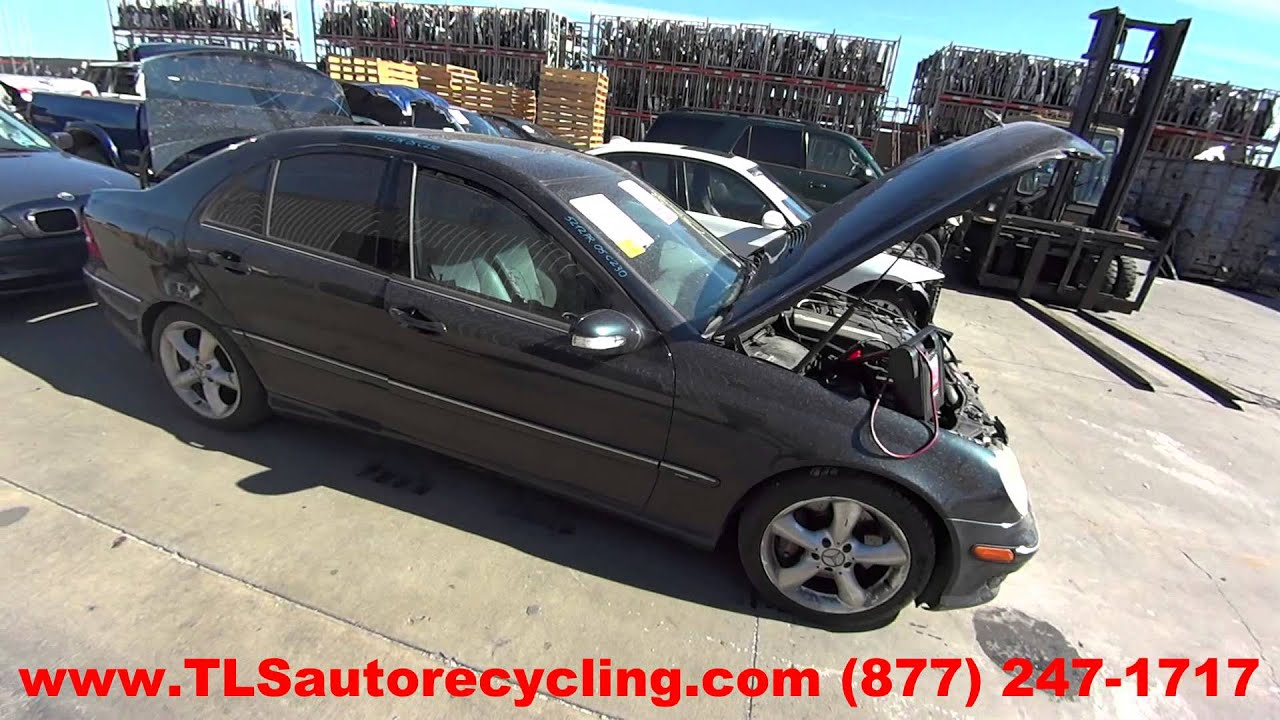 maxresdefault parting out 2005 mercedes c230 stock 5212pr tls auto recycling  at crackthecode.co