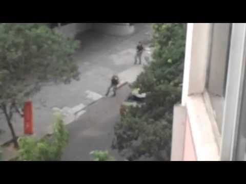IMAGENS FORTES! Vídeos mostram tiroteio e policiais matando bandidos em Porto Alegre (Parte I)