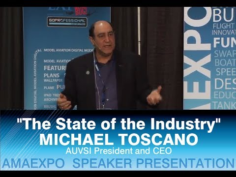 AUVSI President and CEO Michael Toscano