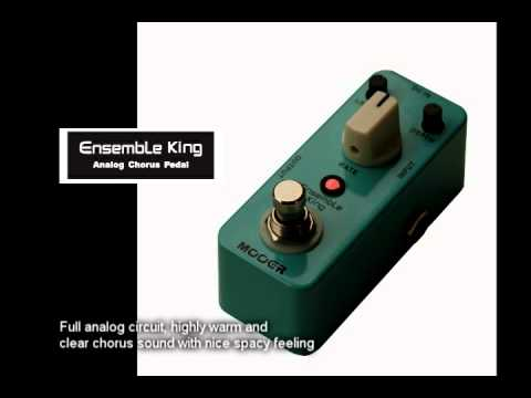 Mooer Ensemble King Micro Series Analog Chorus Pedal