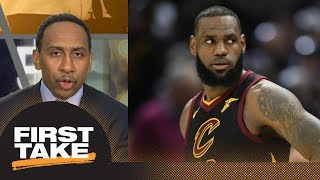 Stephen A. Smith: Cavs 'looked absolutely pathetic' in Game 1 loss to Pacers | First Take | ESPN