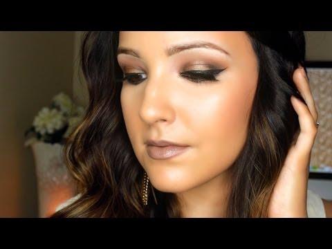 Bronze Smokey Eye Tutorial   Amanda Ensing - YouTube - photo #7