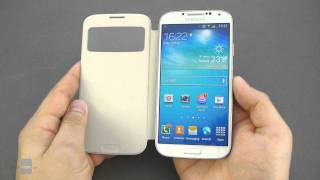 Samsung Galaxy S4 S View Cover Hands-on