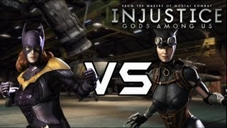 Injustice Gods Among Us Bad Girls VS Good Girls