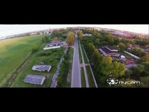 Liepāja FPV Quadcopter aerial video from sky, just flying...