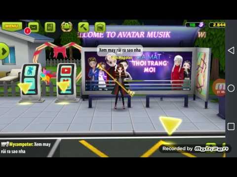 Avatar musik -Nạp 50k nhận set robodop ( nhưng đc mỗi cái giày)
