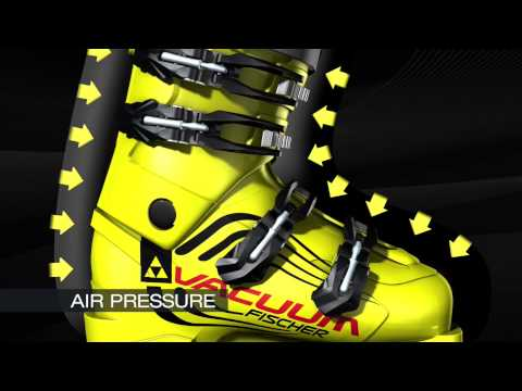 Fischer Ski Fischer RC Pro 130 Vacuum Full Fit Mens Ski Boot in Yellow