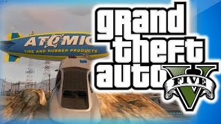 GTA 5 Online Funny Mods Giant Cargo Plane