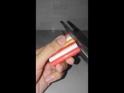 Cách làm GHẾ DỰA bằng ống hút cho barbie♡