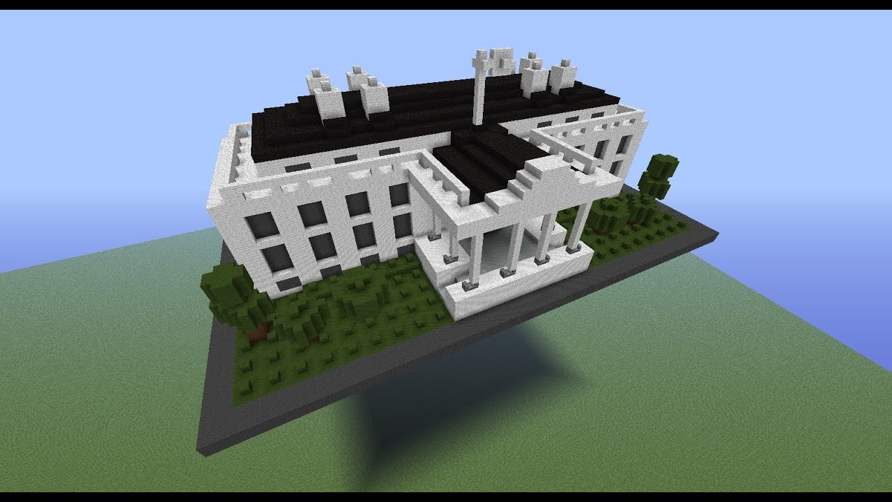 Minecraft  Lego White House